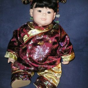"Adora Doll Retired Asian Chinese Girl 18"" MIB"